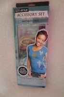 Horizon Accessory Set Bling your Inspirational Fashions Iron on Appliques New