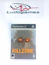 Killzone Edicion Limitada PAL/SPA PS2 Precintado Nuevo Playstation Videojuego