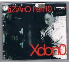 TIZIANO FERRO XDONO PERDONO CD SINGOLO SINGLE cds