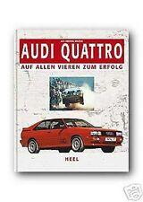 AUDI Quattro auf allen Vieren zum Erfolg Rallye Röhrl S1 Heel RAR 176 Buch