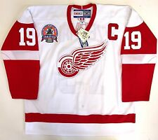 STEVE YZERMAN 2002 STANLEY CUP DETROIT RED WINGS CCM AUTHENTIC JERSEY 56 NEW