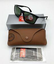Ray-Ban® RB4228 601/9A Men's Rectangular Sunglasses POLARIZED Classic Green 58mm