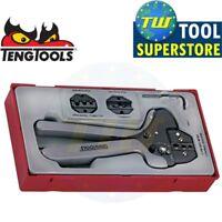 Teng 4pc Ratchet Crimping Wire Terminal Tool Set TTCP04 - Tool Control System