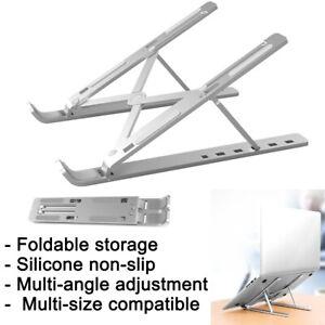 Laptop Stand Adjustable Tablet Holder Folding Portable Desktop Office Support UK