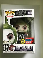 FUNKO POP! BEETLEJUICE #1010 - NYCC 2020 FALL CONVENTION LIMITED EDITION 'GLOW'