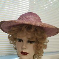 Lavender Straw Hat Miss Bierner Red Hat Event Cheap Garden