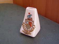 HOVE SUSSEX CREST - MODEL OF A WHISTLE - GRAFTON CRESTED CHINA