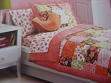 3 pc Circo Birdhouse Blossom Collection Full / Queen Quilt & Shams Set NIP