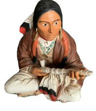 Peace Pipe Red Indian Castagna Collection Sculpture