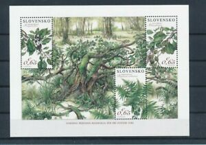 D178863 Slovakia S/S MNH Nature Plants