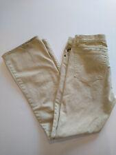 Earl Jean Western Boot Cut 34x34 Cream Jeans