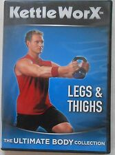 Kettleworx Legs & Thighs The Ultimate Body Collection Kettlebell Workout DVD