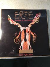 Erte 2006 Calendar Father Of Art Deco UNOPENED $4 US Shipping