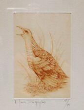 Ancienne gravure C.Zographos, signée,tirage 2/75,French engraving