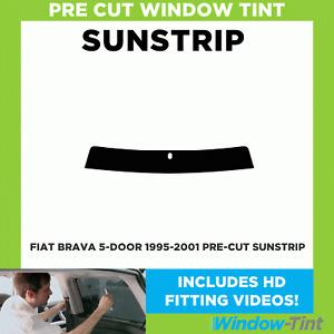 Pre Cut Sunstrip - Fiat Brava 5-door Hatchback 1995-2001 - Window Tint