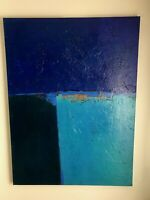 "Original Abstract Painting by Artist Jerry Czapp 48""x 36"" Acrylic on Canvas"