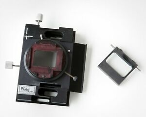 35mm Slide Copier/Duplicator Stage-Carrier. Ultra-Precise Screw Drive Positioner