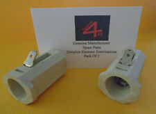 Dimplex Electric Fire Element Socket Connectors Pack of 2