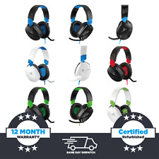 Turtle Beach Recon 70 (70P/70X) Gaming Headset - PS4, Xbox One, Nintendo Switch