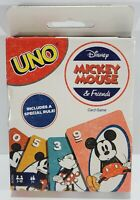 New in Damaged Box Mattel Games Features Mickey Mouse & Friends Uno Card Game