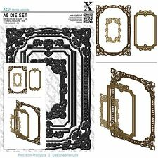 DOCRAFTS XCUT A5 DIE SET ORNATE FRAMES SQUARE CUTTING DIES - NEW UNIVERSAL FIT