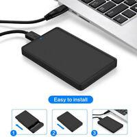 """Hard Disk USB 3.0 SATA Box Case Enclosure Drive External to 2.5"""" Inch HDD Hard"""