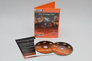 THE ORANGE BOX for PC DVD Half-Life 2 Episode 1+2 Team Fortress 2