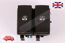 NEW RENAULT MEGANE II SCENIC II FRONT DOUBLE ELECTRIC WINDOW SWITCH BUTTON