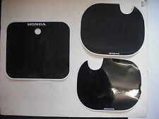 Number Backgrounds Plates Honda CR125 CR 125 1984 BLACK CR 250 500 Decals