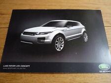 Land Rover LRX Concept (Evoque) FOLLETO jm