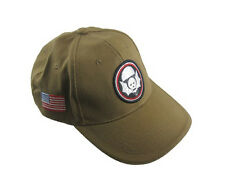 Kaki US 502nd Parachute Infantry Baseball Cap-Widow Makers Sun Visiere NEUF