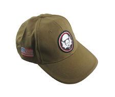 KHAKI US WW2 502nd WIDOWMAKERS BASEBALL CAP -ONE SIZE