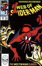 WEB OF SPIDER-MAN (1985) #62 - Back Issue
