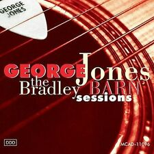 "GEORGE JONES, CD ""THE BRADLEY BARN SESSIONS"" NEW SEALED"