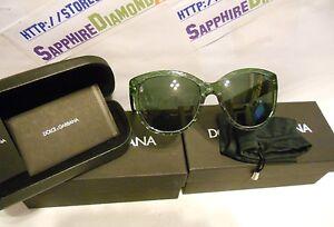 DOLCE & GABBANA Sunglasses Green DG 4159P 266271 56MM Sunglasses Fast Shipping!