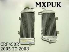 CRF450 2006 RADIATORS Performance Rads MXPUK 2006 CRF 450 RADS 06 CRF450R (017)