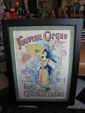 Antique Nouveau Cirque Papa Chrysantheme Lithographic Poster