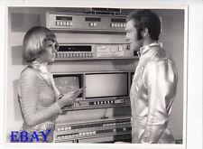UFO British TV Show busty babe VINTAGE Photo