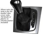 Black stitch Fits Audi A3 2005-2012 DSG auto automatique de vitesse en cuir seulement Gaiter