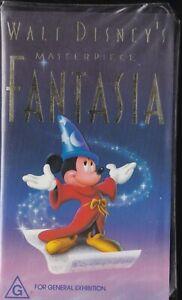 Fantasia - Original  Disney VHS Release [Clear Clamshell]