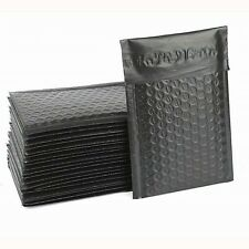 Small Black Bubble Poly Mailers Size 000 4x7 Envelopes 5 10 20 50 Packs