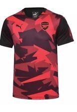 PUMA Arsenal AFC Stadium Jersey ECL Mens XL Black Bright Plasma NWT