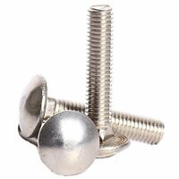 M8X150 Cup Square Bolt /& Nut Hexagon Carriage Coach Screw Fixing Bzp Pack 10