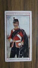 More details for highland light infantry   #5 cope cigarettes 1908 eminent british regiments