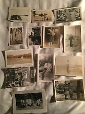 1940'S 1950'S 1960'S LOT OF OVER 100 B&W PHOTOGRAPHS CRAFT ALTERED ART COLLAGE