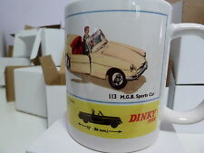 300ml COFFEE MUG, DINKY TOYS NO.113 MGB SPORTS CAR