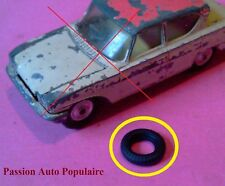 CORGI TOYS 234 : FORD CONSUL un pneu striés 15mm / one tyre tire ROUND Tread