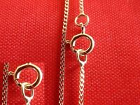"""9ct Gold Curb Chains 16""""18""""20"""", best selling fine curb chain on ebay !"""