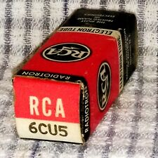 NOS 6CU5 vacuum tube radio TV valve, TESTED