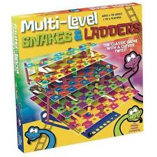 Multi-Level Snakes and Ladders: The Classic Game with a Clever Twist